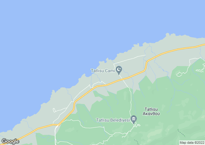 Map for Kyrenia/Girne, Tatlisu