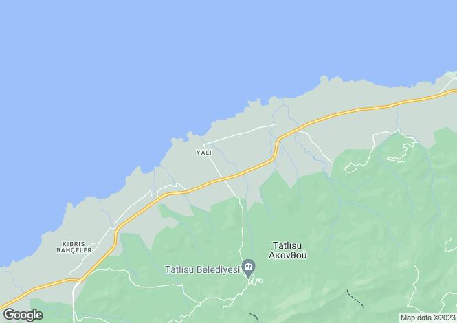 Map for Kyrenia/Girne, Tatlisu