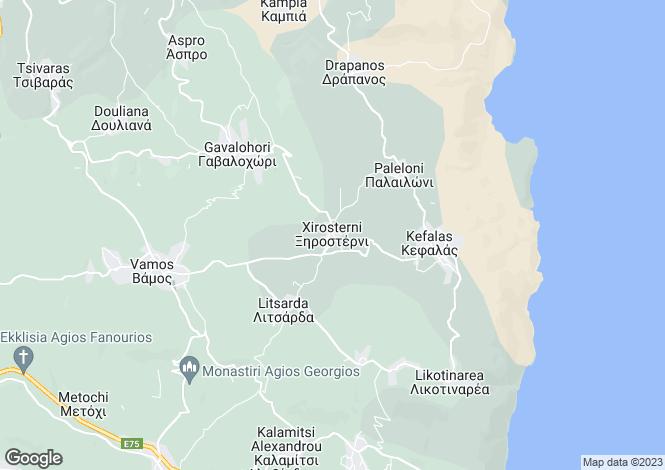 Map for Xirosterni, Crete, Greece