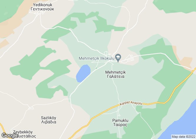 Map for Famagusta, Mehmetcik