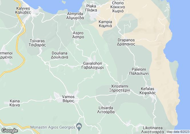 Map for Gavalohori, Crete, Greece