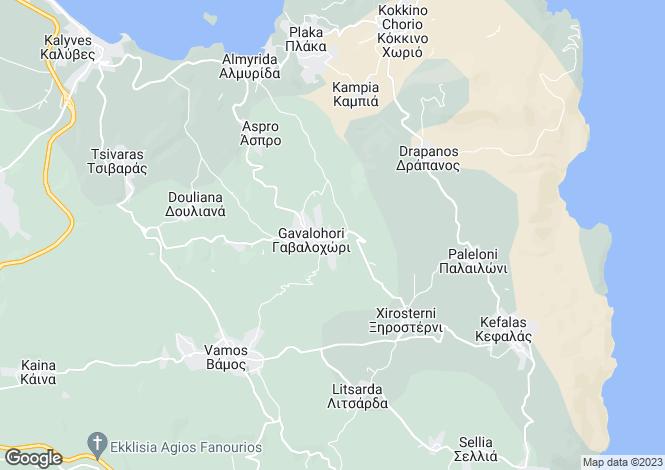 Map for Gavalohori, Chania, Greece