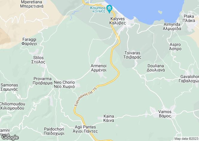 Map for Armeni, Crete, Greece