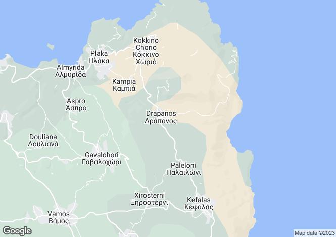 Map for Drapanos, Chania, Greece