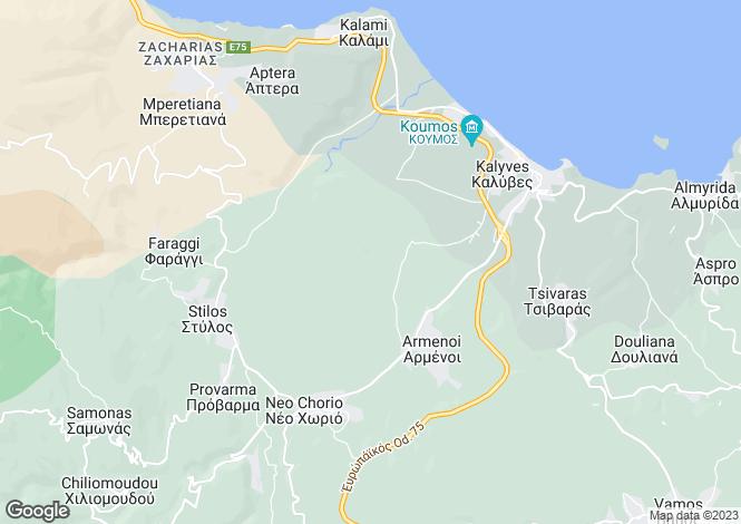Map for Neo Chorio, Crete, Greece