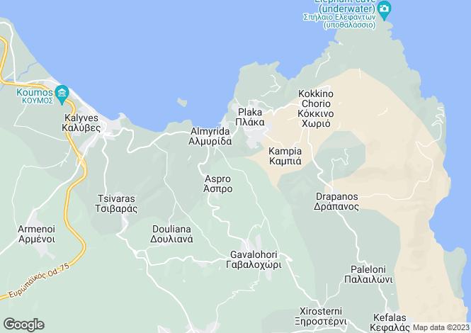 Map for Agios Vasillis, Crete, Greece