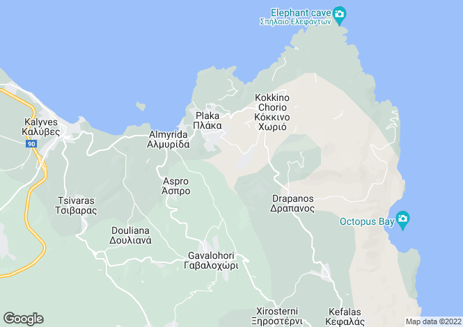 Map for Kambia, Chania, Greece