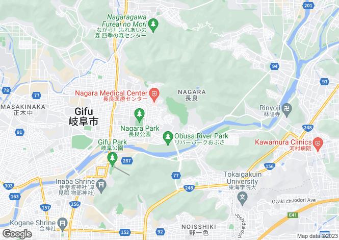Map for Chiba, Nagara