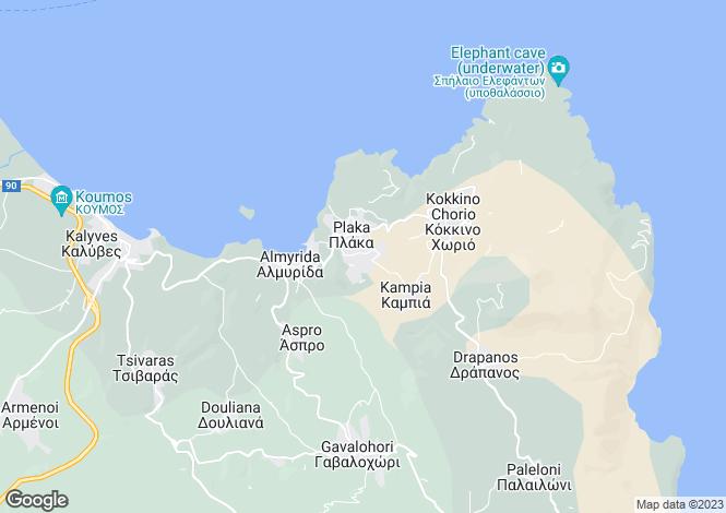 Map for Plaka, Crete, Greece