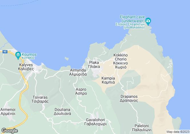 Map for Plaka, Chania, Greece