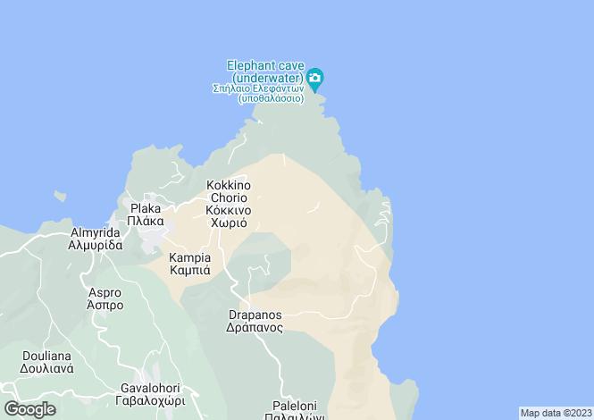 Map for Kokkino Chorio, Chania, Greece