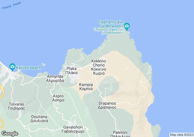 Map for Kokkino Chorio