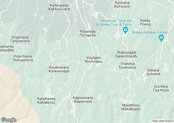Map for Topolia, Chania, Crete