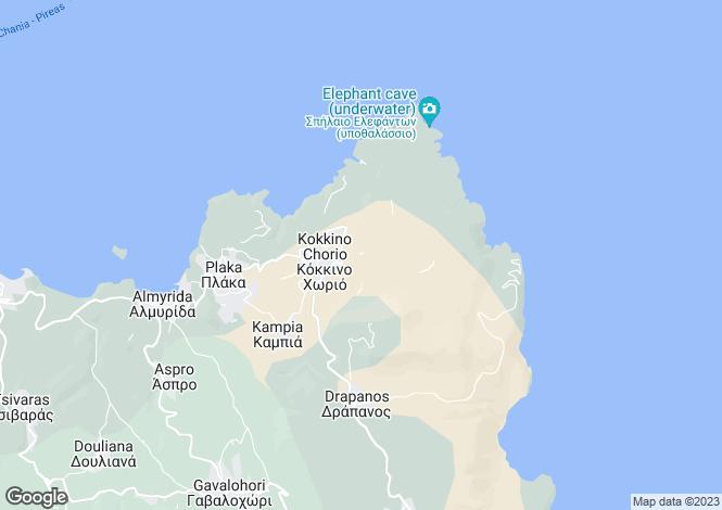 Map for Kokkino Horio, Crete, Greece