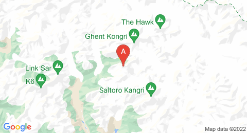 map of Sherpi Kangri (India)