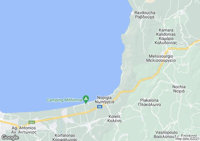 Map for Crete, Chania, Nopigia
