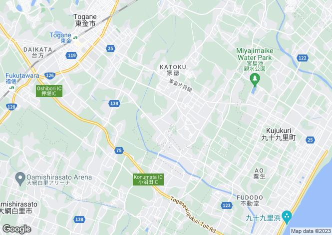 Map for Shimane, Hirose