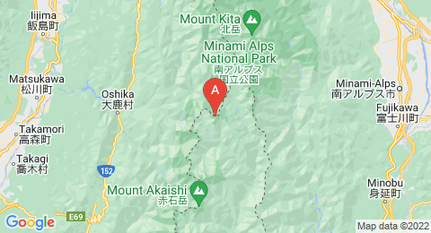 map of Mount Shiomi (Japan)