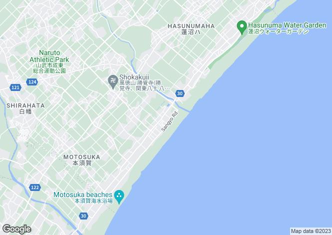 Map for Ishikawa, Komatsu
