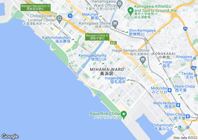 Map for Mie, Isobe