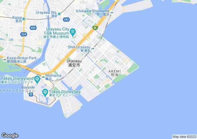 Map for Gifu, Takasu