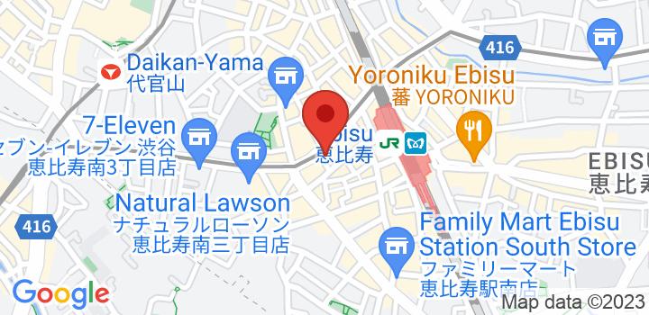 恵比寿ショールーム 地図