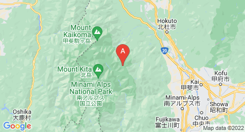 map of Mount Kannon (Japan)