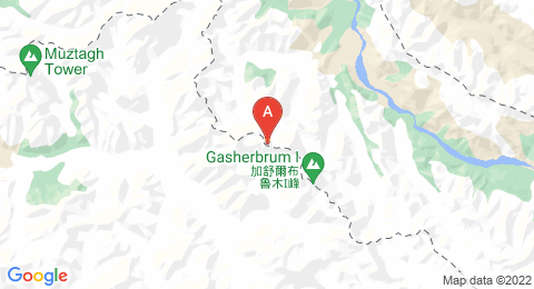map of Gasherbrum II (China)