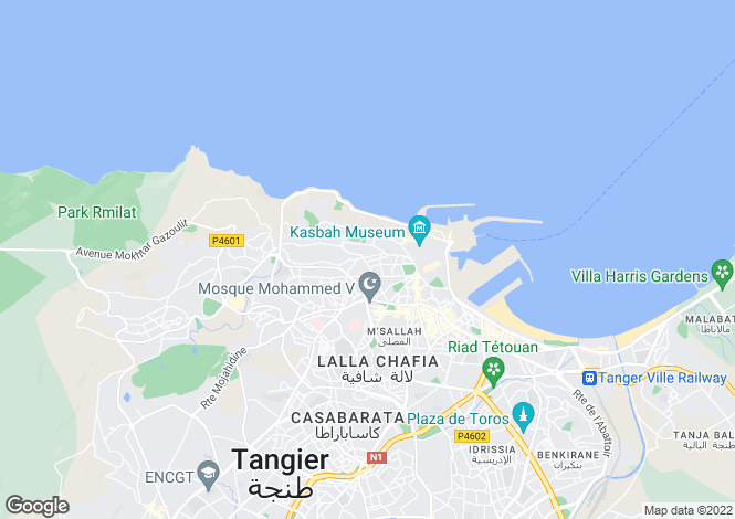 Map for Tanger, 90000, Morocco