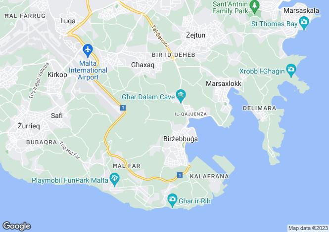 Map for Birzebbuga