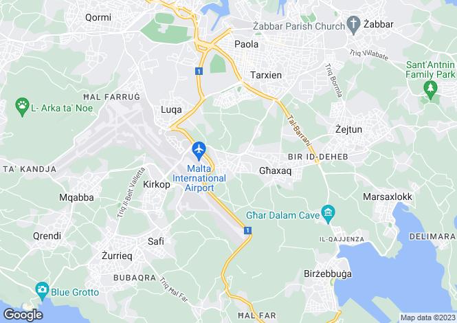 Map for Gudja