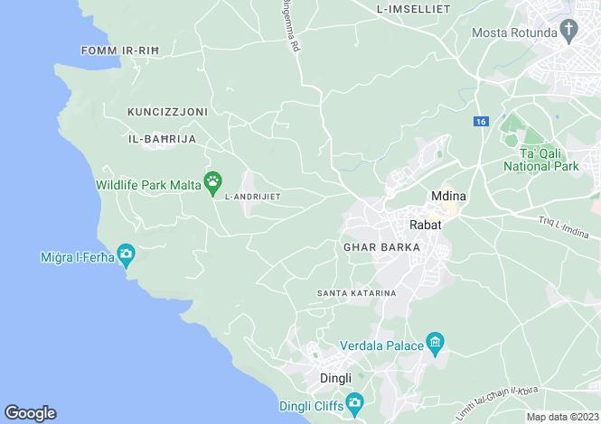 Map for Rabat