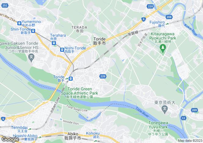 Map for Kochi, Ino