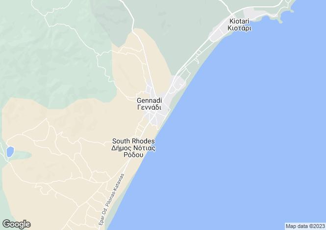 Map for , Gennadi, Greece