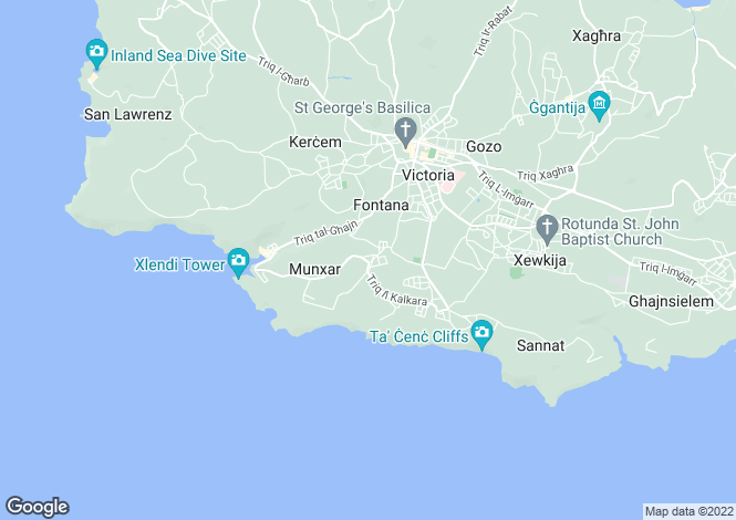 Map for Munxar