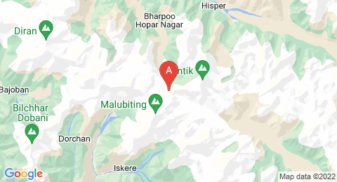 map of Malubiting (Pakistan)