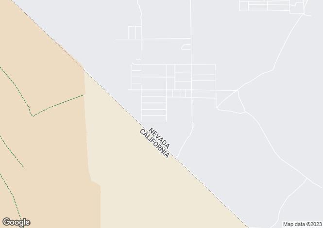 Map for Nevada, Nye County, Pahrump