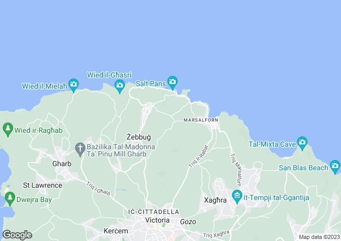 Map for Zebbug