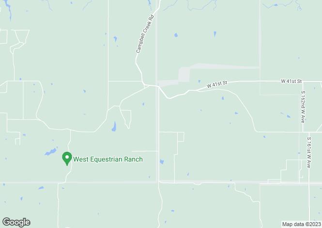 Map for USA - Oklahoma, Tulsa County, Sand Springs