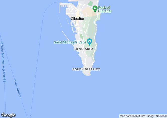 Map for Buena Vista Park Villas, Gibraltar, Gibraltar