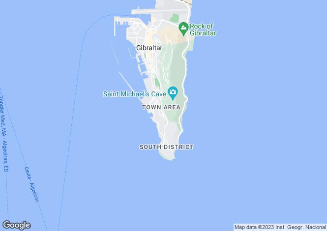 Map for Buena Vista Park Villas, Gibraltar