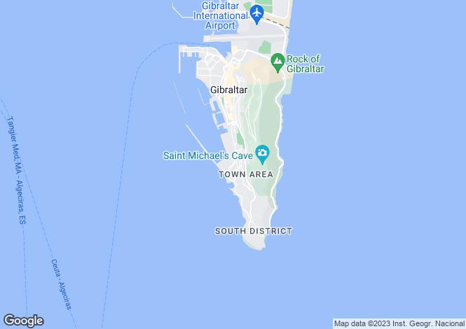 Map for Cumberland Terraces, GIbraltar, Gibraltar