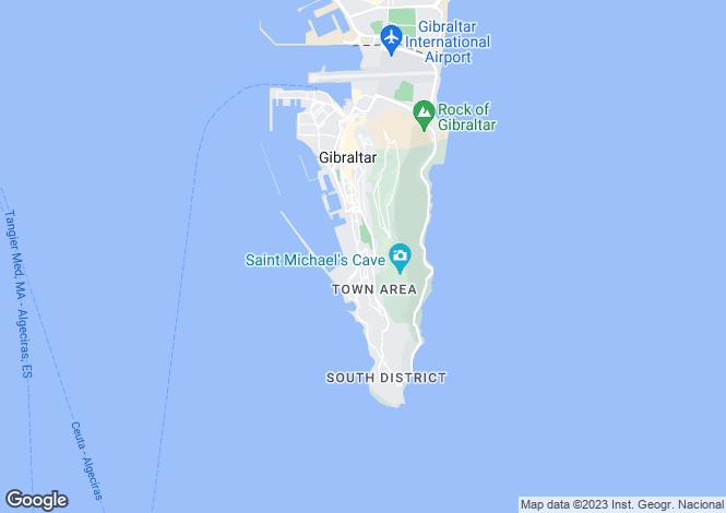 Map for Plata Villa, Gibraltar