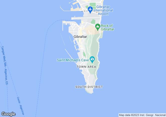 Map for RosIa Court, GIbraltar, Gibraltar
