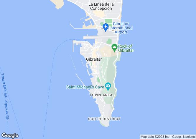Map for Morrellos Ramp, Gibraltar