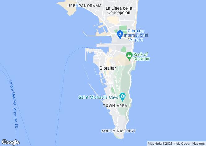 Map for Quay 29, GIbraltar, Gibraltar