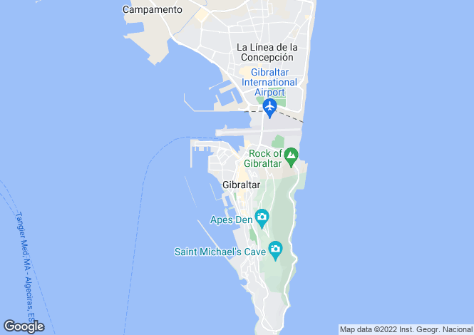Map for Ocean Heights