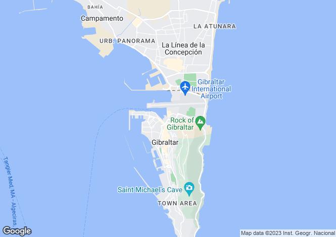 Map for Ocean Village