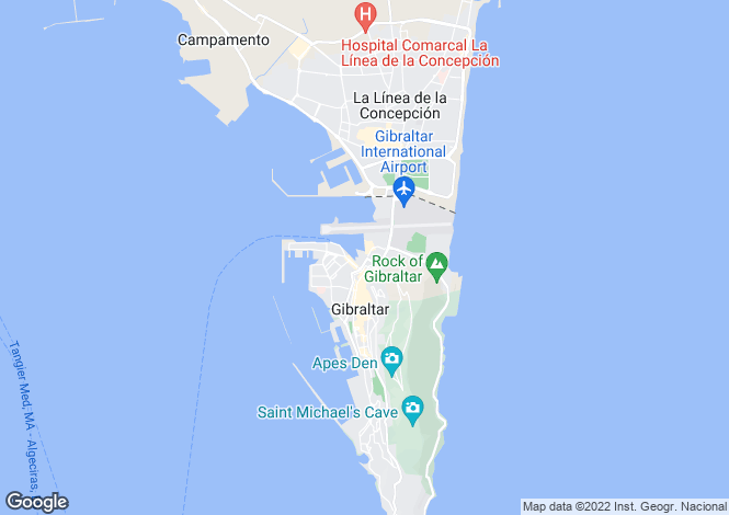 Map for Ocean Village, Gibraltar, Gibraltar
