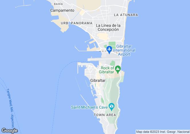 Map for Watergardens, Gibraltar, Gibraltar